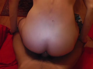 User riding on my fat cock